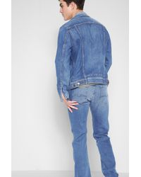 7 For All Mankind - Blue Airweft Denim The Standard In Amalfi Coast for Men - Lyst