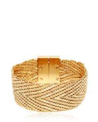 Givenchy - Metallic Flat Chain Bracelet - Lyst