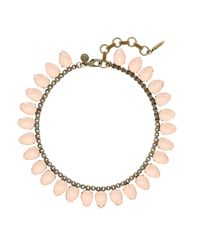 Loren Hope | Pink Sylvia Necklace, Shell | Lyst