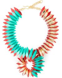 Silvia Rossi - Green 'infinite' Necklace - Lyst