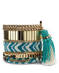 Samantha Wills - Blue Ocean Of You Bracelets, Set Of 5 - Lyst