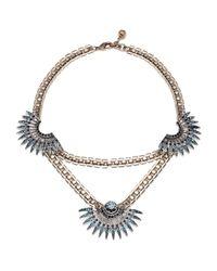 Lulu Frost | Beacon Necklace - Blue | Lyst