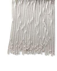 MM6 by Maison Martin Margiela - Metallic Fringed Bracelet - Lyst
