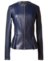 The Row | Blue Fitted Jacket | Lyst
