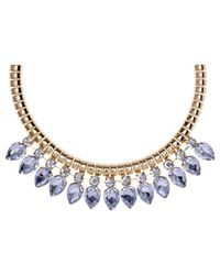 Ted Baker | Multicolor Emari Crystal Chain Necklace | Lyst