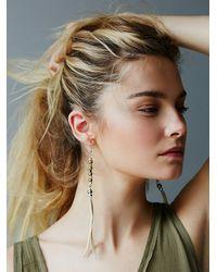 Free People - Natural Sun + Glory Womens Santa Ana Earrings - Lyst