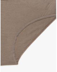 Baserange - Brown Classic Bell Pants In Taupe - Lyst