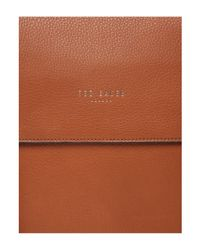 Ted Baker - Brown Sor Leather Satchel for Men - Lyst