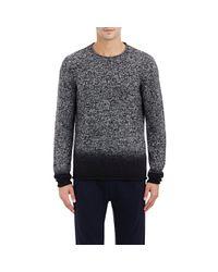 VINCE | Black Dégradé Cashmere Sweater for Men | Lyst