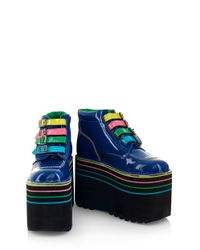 House of Holland | Blue Aw07 'one Trick Pony' X Kickers | Lyst