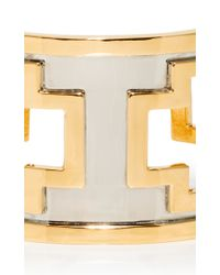 Monica Sordo | Metallic M'o Exclusive: Ducane Gold And Ruthenium Cuff | Lyst