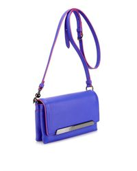 Christian Louboutin - Purple Rougissime Leather Cross-Body Bag - Lyst
