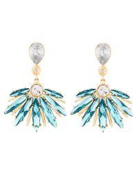 Henri Bendel - Blue The Waldorf Drop Earrings - Lyst