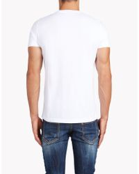 DSquared² - White Classic Fit T-shirt for Men - Lyst