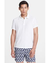 Vilebrequin | White 'pavois' Terry Polo for Men | Lyst