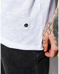 Criminal Damage | White Trek Longline T-shirt for Men | Lyst