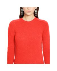 Polo Ralph Lauren - Pink Wool-cashmere Sweater - Lyst