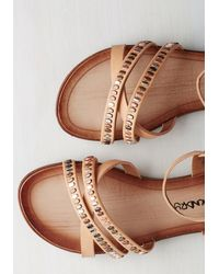 Dirty Laundry | Brown Shimmering Saunter Sandal | Lyst
