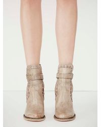 Free People - Natural Fp Collection Womens Heirloom Heel Boot - Lyst