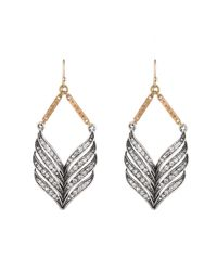 Lulu Frost | Metallic Symmetry Drop Earrings | Lyst