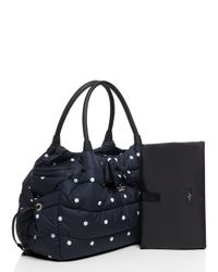 kate spade new york | Blue Colby Court Stevie Baby Bag | Lyst
