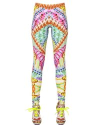 Manish Arora | Multicolor Printed Stretch Jersey Leggings | Lyst
