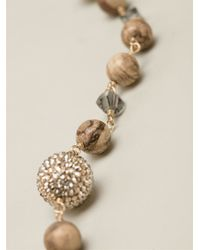 Roni Blanshay - Multicolor Lariat Necklace - Lyst