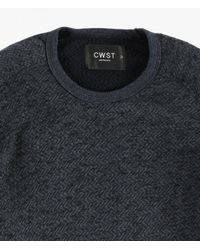 Cwst | Blue Miramar Crew Sweater for Men | Lyst