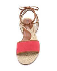 MICHAEL Michael Kors - Red Lilah Flat Sandals - Watermelon - Lyst
