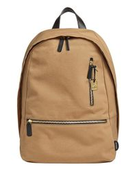 Skagen | Natural 'kroyer 2.0' Coated Canvas Backpack for Men | Lyst