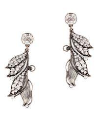 Lulu Frost | Metallic Vine Earrings | Lyst