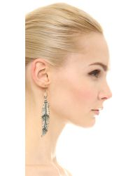 Pascale Monvoisin - Metallic Destiny Earrings - Silver - Lyst