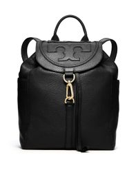 Tory Burch | Black All-t Backpack | Lyst