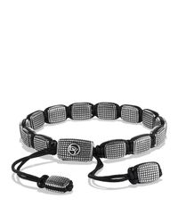 David Yurman | Metallic Sky Large Tile Bracelet for Men | Lyst
