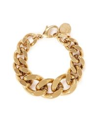 Ela Stone - Metallic 'editha' Graduated Chain Bracelet - Lyst
