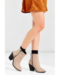 Kelsi Dagger Brooklyn | Brown Jet Set Heeled Boot | Lyst