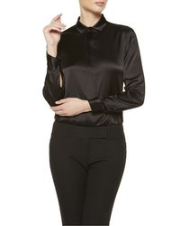 La Perla | Black Shirt | Lyst