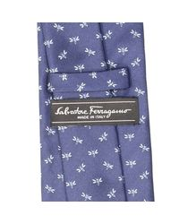 Ferragamo | Blue Tie Silk 8 Cm for Men | Lyst