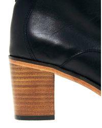 Wolverine - Blixen Black Heel Boots - Lyst