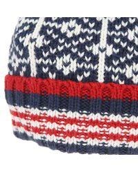 Hilfiger Denim - Blue Cap / Hat - 1957881555 Forest Beanie for Men - Lyst