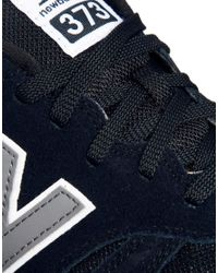 New Balance - Black 373 Trainers for Men - Lyst