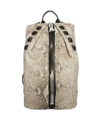 Aimee Kestenberg | Gray Tamitha Leather Studded Backpack | Lyst