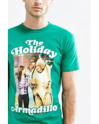 Urban Outfitters | Green Friends Holiday Armadillo Tee for Men | Lyst