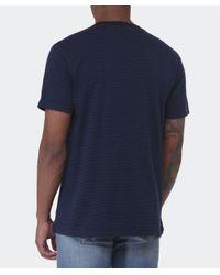 Paul Smith | Blue Pocket Striped T-shirt for Men | Lyst