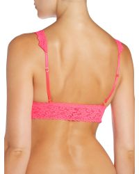 Hanky Panky - Pink Signature Lace Bralette - Lyst