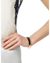 Pamela Love | Pink Rose Gold Onyx Solid Inlay Cuff | Lyst