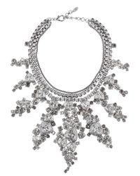 On Aura Tout Vu | Black Patina Necklace | Lyst