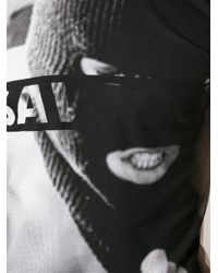 ELEVEN PARIS - White 'savage M' Print T-shirt for Men - Lyst