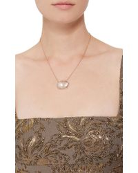 Jordan Alexander | Pink One Of A Kind 18k Rose Gold Diamond And Pearl Necklace | Lyst