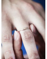 Free People - Pink Bittersweet Womens Etched Letter Ring - Lyst
